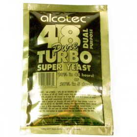 Alcotec 48  Turbo Super Yeast