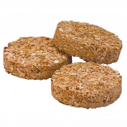 Apple sawdust puck for electric smoker pack of 120 from dowricks.com
