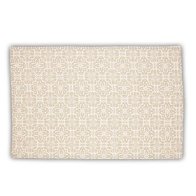 Belle - Quality 'English made' kitchen textiles - tea towel taupe tile crisp and dene