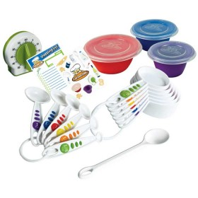 Crisp tools for healthy eating - 17 piece measure & prep kit curious chef
