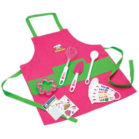 Crisp tools for healthy eating - 11 piece girl's chef kit curious chef