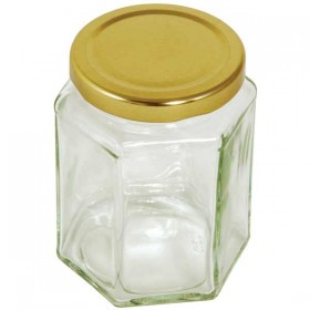 Hexagonal Preserving Jar - 340 ml / 12 oz