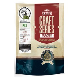 Mangrove Jack's Craft Series Pils Beer Kit with dry hops - 2.5kg