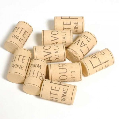Natural Corks - 1000 pieces from dowricks.com
