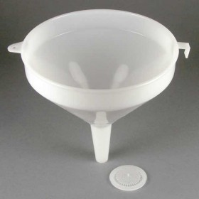 Plastic Funnel with detachable strainer - 7