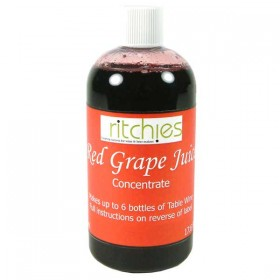 Ritchies Red grape concentrate - 500ml