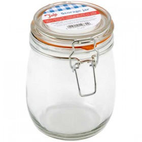 Tala lever arm storage jar - 700 ml ( 1 1/2 lb )