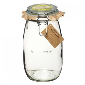 Traditional glass preserving jar - 1500ml (53oz)