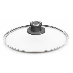 Woll - The toughest non stick cookware - lid 32 cm glass with metal rim