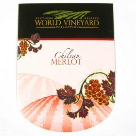 World Vineyard - Chilean Merlot - Labels
